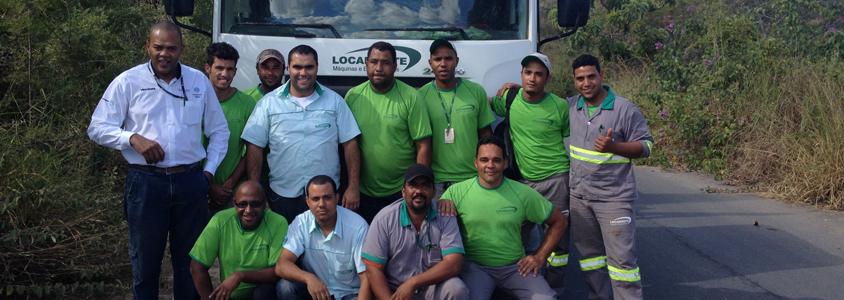 Equipe técnica com ampla com ampla experiência no campo da construção civil.